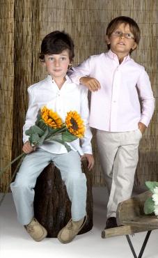 Comodidad y versatilidad son las consignas para la ropa de niño de Athina