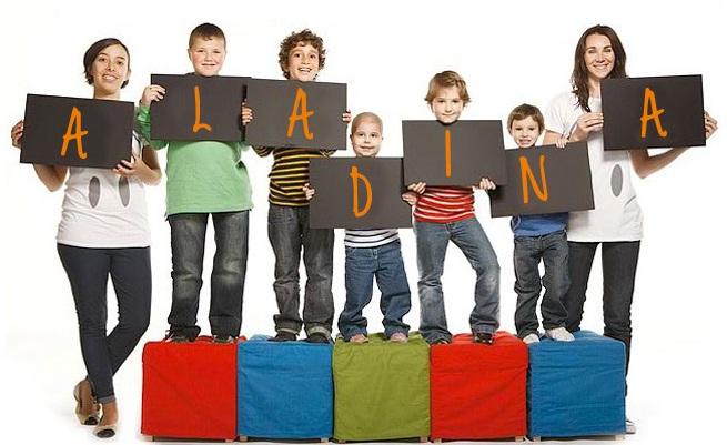 Ayudar a los niños con problemas de salud es el objetivo de Aladina, que desde Athina compartimos y apoyamos. Foto en aladina.org.