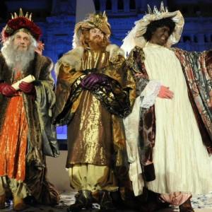 La Cabalgata de Reyes es uno de los momentos grandes de las fiestas navideñas.