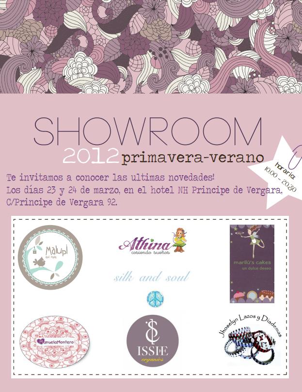 ¡No te pierdas nuestro Showroom Primavera-Verano 2012!