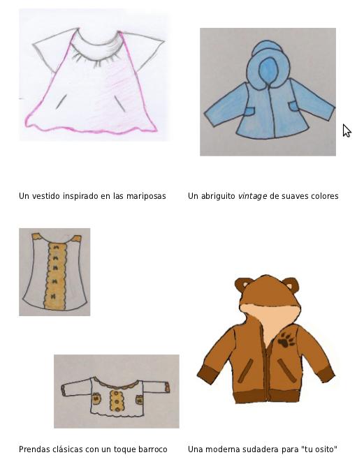 Una muestra de algunos de los bocetos que han llegado a nuestro e-mail.